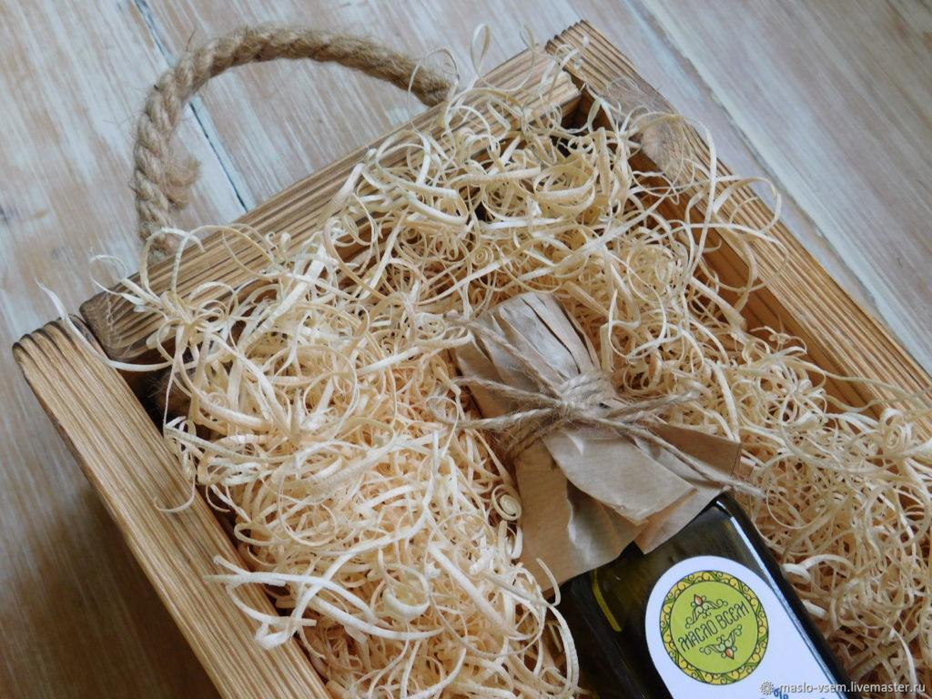 Древесная стружка (древесная шерсть)